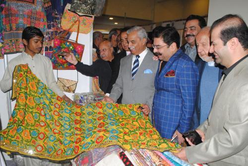 Launching Ceremony of Islamabad Handicrafts & Women Entrepreneurs Exhibition-2017